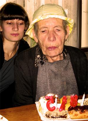 Cumpleaños de la abuela