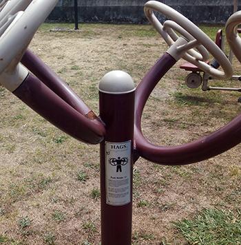 Instrucciones parque saludable
